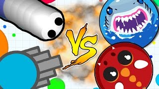 Best .io Game.... GIRLFRIEND DECIDES..!! SLITHER.IO VS MOPE.IO VS DIEP.IO VS AGAR.IO -