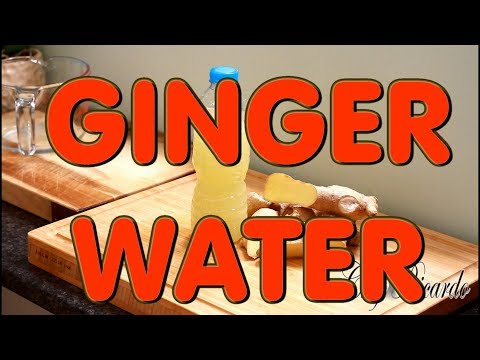 How To Make Best Ginger Water | Recipes By Chef Ricardo