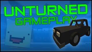 Unturned Gameplay - Part 2 - Base Building, Crafting, Farming & Giveaway - (unturned 3 Gameplay)