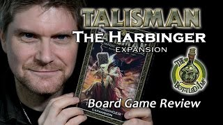 'The Harbinger Expansion for Talisman Revised 4th Edition' - Fantasy Board Game Review.