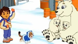 Go Diego Go! - Diego's Artic Rescue - New Full Game English - Dora Friend Dora the Explorer