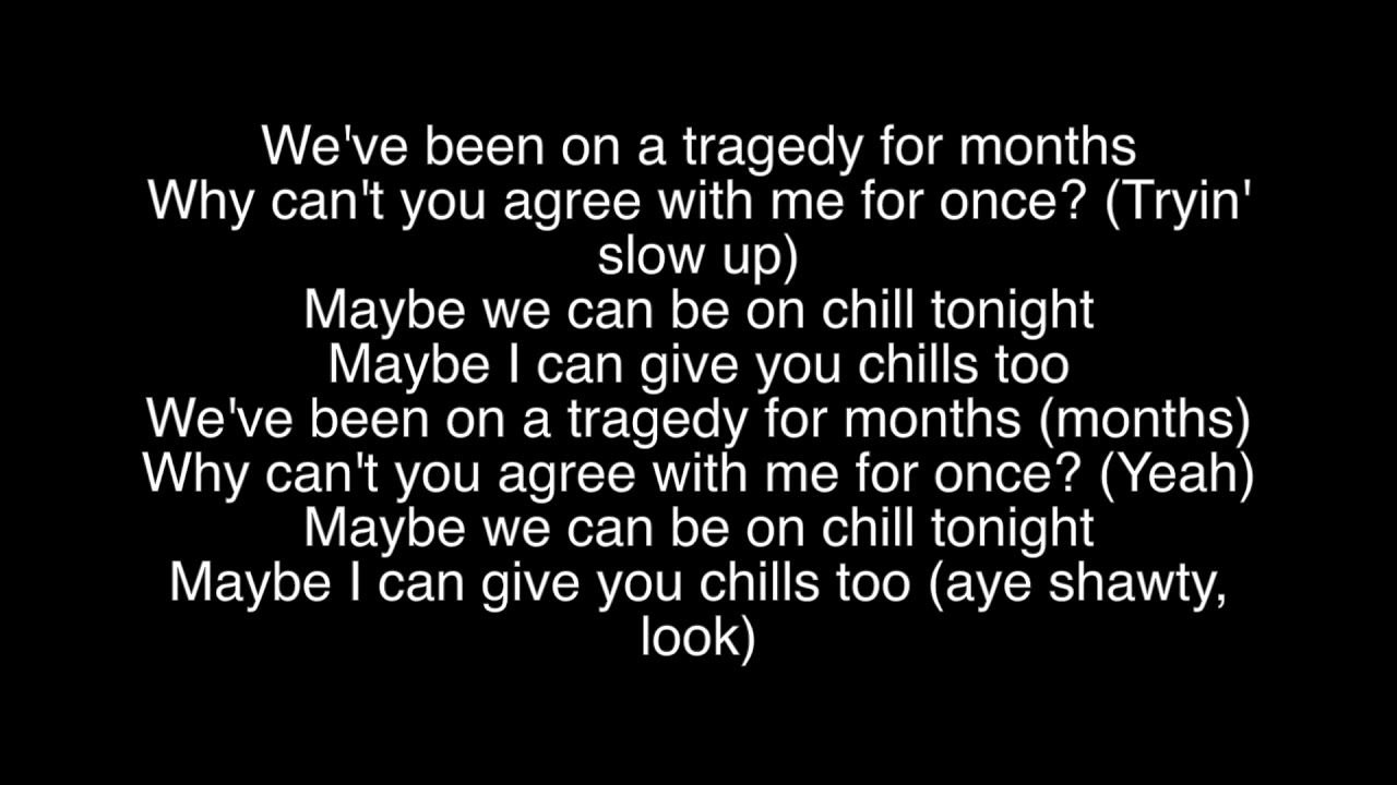 chill lyrics