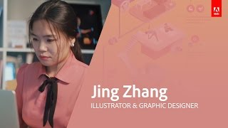 Illustration & Graphic Design with Jing Zhang - Adobe Live