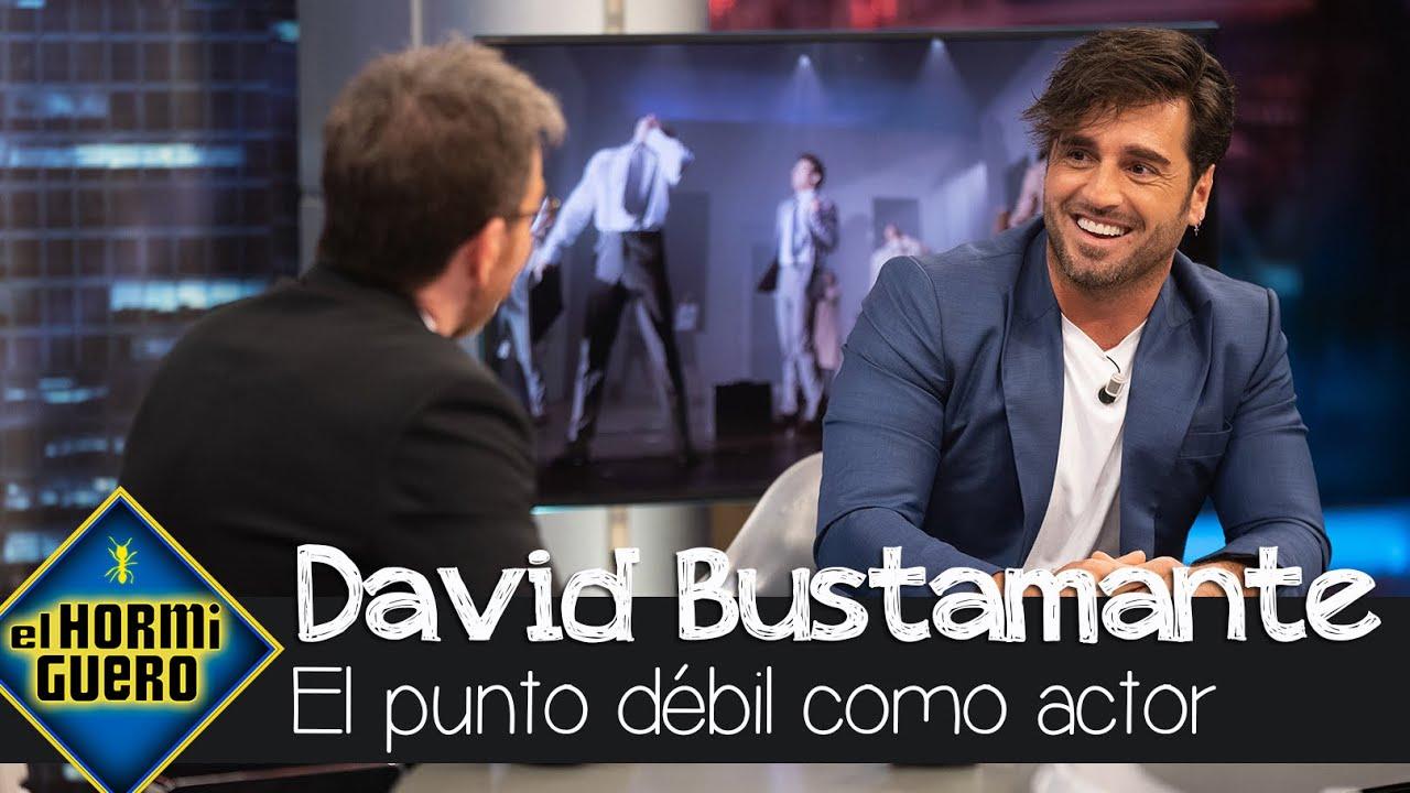 """El punto de débil de David Bustamante como actor: """"No se me da bien escuchar"""" - El Hormiguero"""