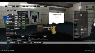 the worst gun ever(roblox) phantom frose beta