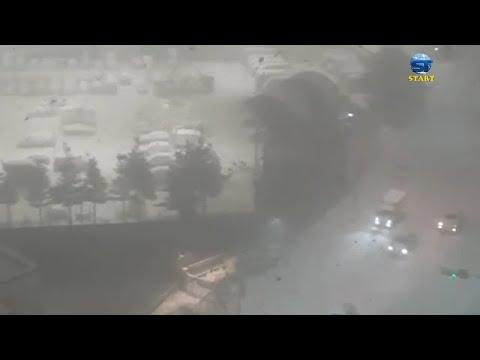 عاصفة ثلجية هائلة تضرب سيول ، عاصمة كوريا الجنوبية