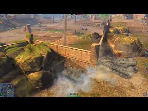 World of Tanks Blitz : SP I C at Mayan Ruins