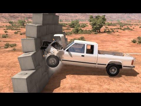 видео: BeamNG.Drive - ЖЕСТОКИЙ КРАШ ТЕСТ ТАЧЕК БРЕЙНА