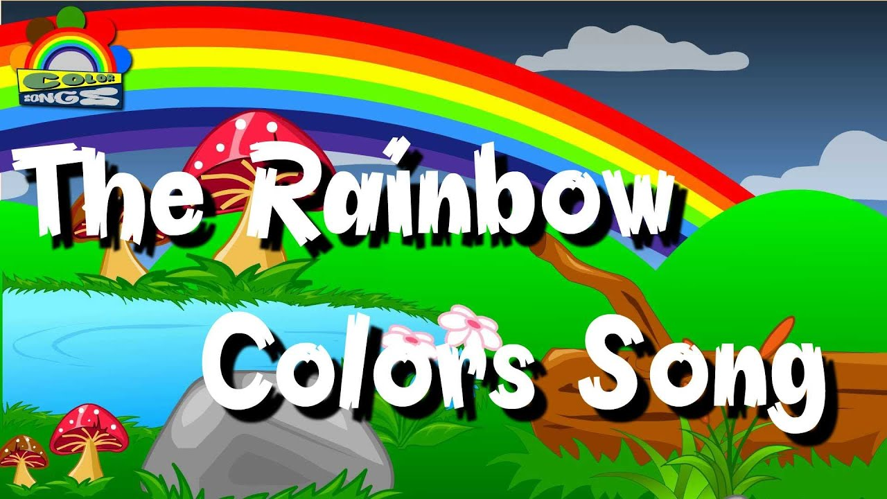 The Rainbow Colors Song | Colors Songs For Children | Rhymes For ...