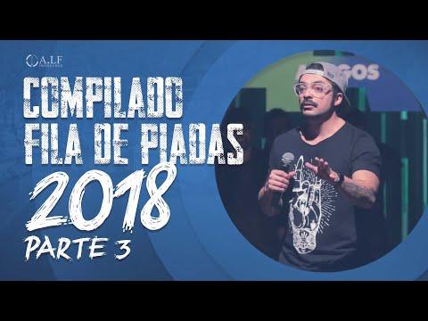 COMPILADO FILA DE PIADAS 2018 - parte 3 - MÁRCIO DONATO