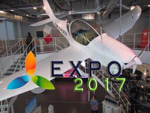 EXPO 2017 #2Павильоны Россия,Чехия,Южная Корея!Pavilion Russia,Czech,South Korea,Uzbekistan