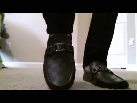 louis vuitton mens white loafers