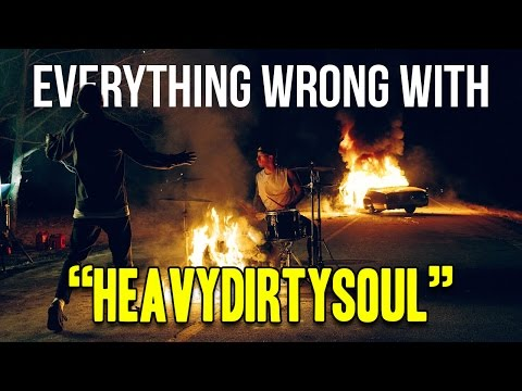 "Everything Wrong With Twenty One Pilots - ""Heavydirtysoul"""