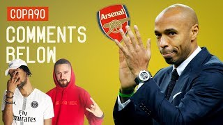 Is Thierry Henry on the path to become Arsenal manager? | Comments Below