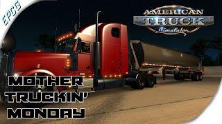 American Truck Simulator - MTM - Mack Dump Trailer Delivery