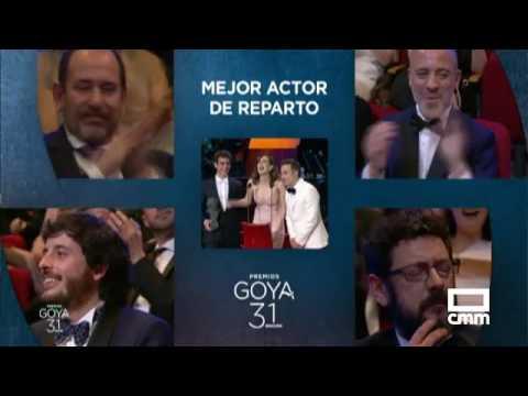 Premiados en los Goya 2017