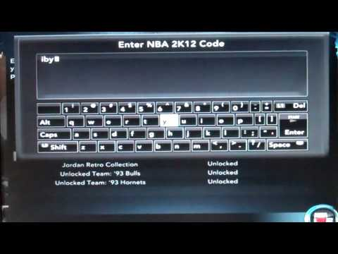 Nba 2k12 locker codes for xbox one for How to enter cheat codes in design home app