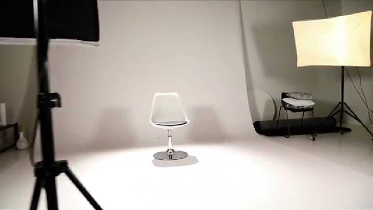 Chaise pivotante r glable en hauteur steevy youtube - Chaise haute reglable en hauteur ...
