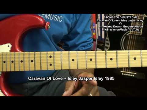 Cararvan Of Love Vs Shake You Down RIPOFF Guitar Lesson STONE COLD BUSTED! EricBlackmonGuitar