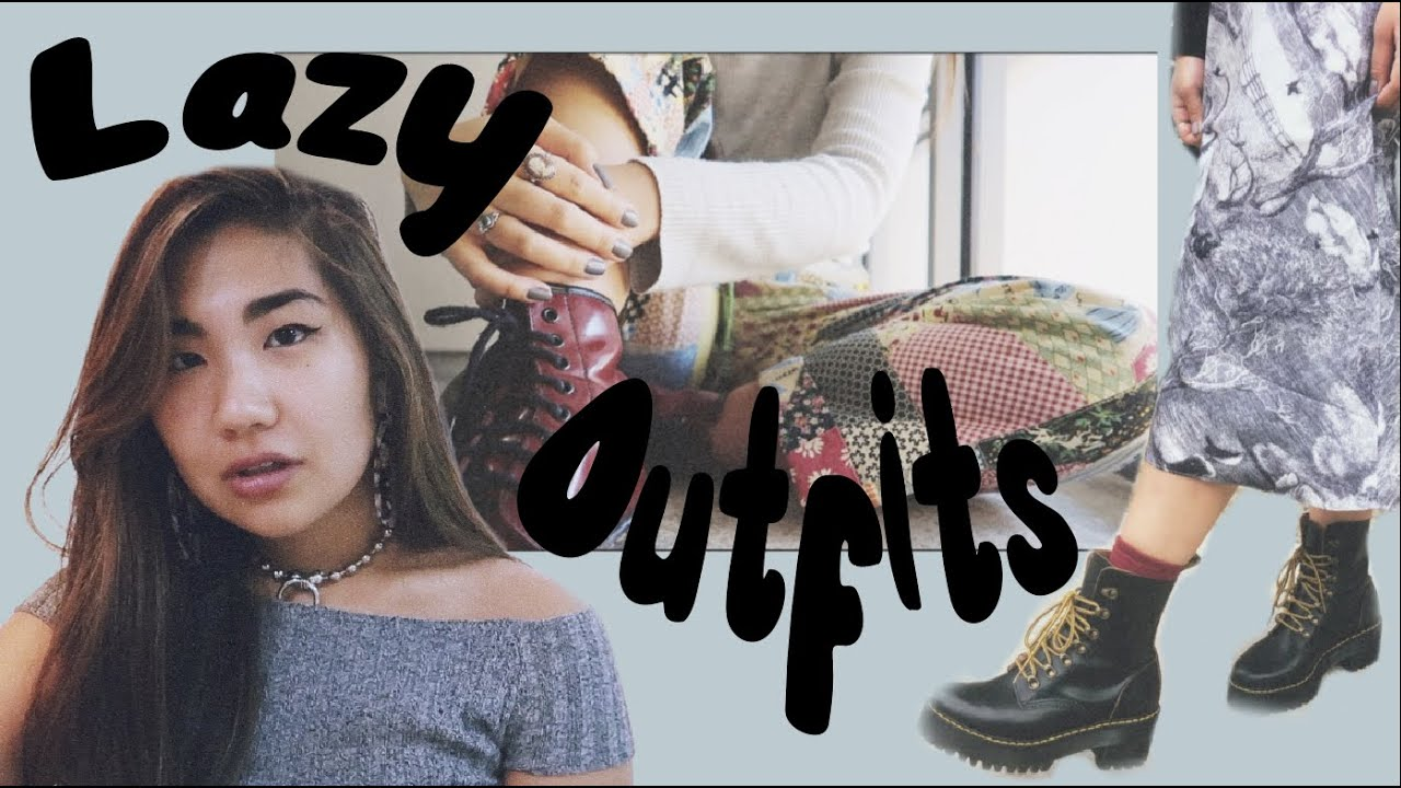 [VIDEO] - LAZY OUTFIT IDEAS LOOKBOOK (for when Aunt Flo is in town ?) 3