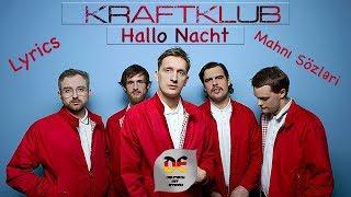 Kraftklub - Hallo Nacht (Lyrics mit aserbaidschanischer Übersetzung)