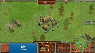 ONU vs AoL+F2 - Age of Mythology: The Titans (Hybrid Mod) (Game 2)