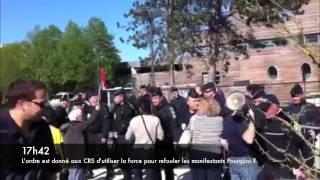 6mai2013 - répression policière de la manifpourtous dans le Calvados