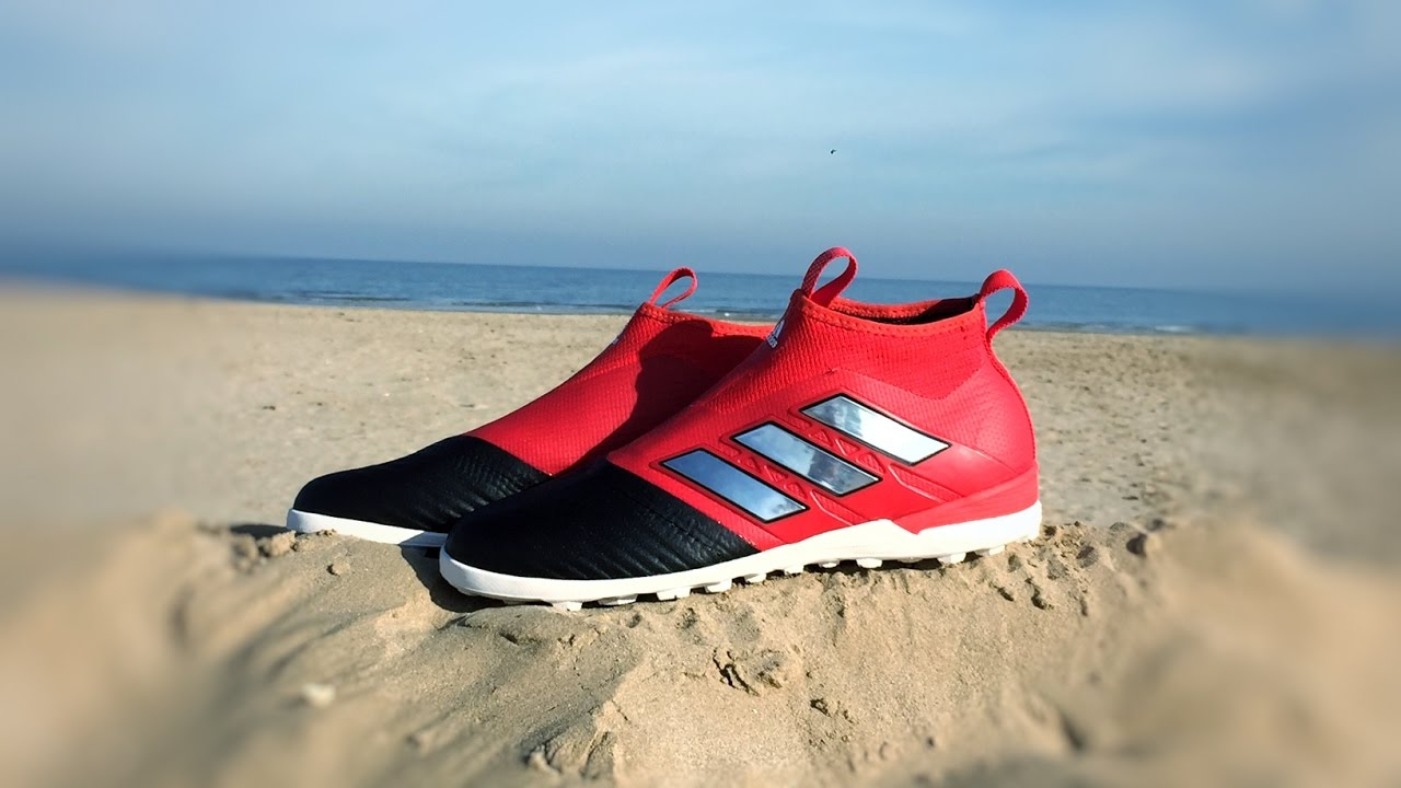 fb189f959c00 Adidas ACE Tango 17+ PureControl Turf (Red Limit Pack) 4K - YouTube