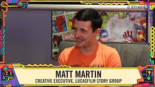 Lucasfilm's Matt Martin talks Star Wars: Galaxy's Edge at SDCC 2019!