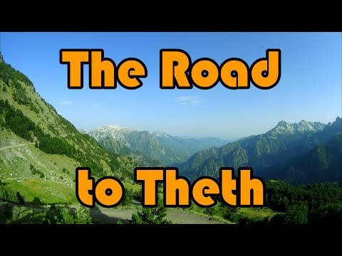Albania 2017 The road to Theth SH21 (from Koplik) long version, reference to map