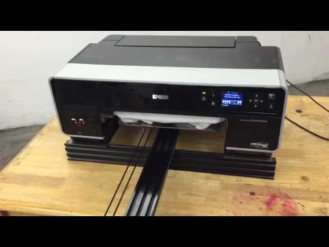 How to Build Epson R3000 DIY DTG Arduino Flatbed Printer -  Direct to Garment