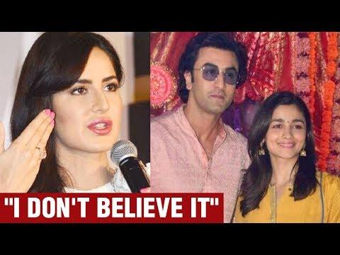 Katrina Kaif Breaks Silence On Ex Ranbir Kapoor & Alia Bhatt DATING | Ranbir Alia Relationship Mp3