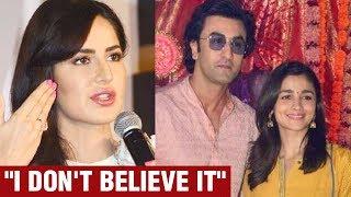 Katrina Kaif Breaks Silence On Ex Ranbir Kapoor & Alia Bhatt DATING   Ranbir Alia Relationship