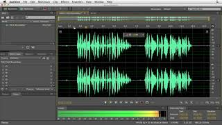 Video How to record directly into Audition CS6 | lynda.com tutorial download MP3, MP4, WEBM, AVI, FLV April 2018