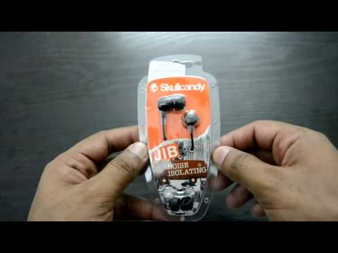 Skullcandy JIB S2DUDZ-003 In-Ear Headphone Unboxing & Review (Hindi)