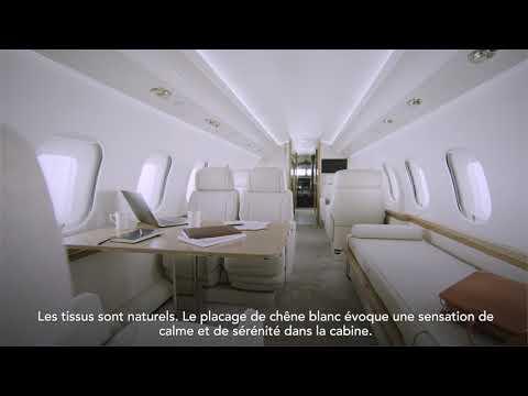 Le concept inspiré de la cabine Global 6500