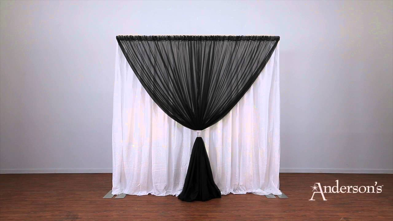 for pin drape cheap stand booth backdrop drapes and photo pipe wedding