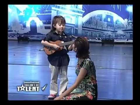 น้องเกล อูคูเลเล่Thailand's Got Talent Таиланд ищет таланты