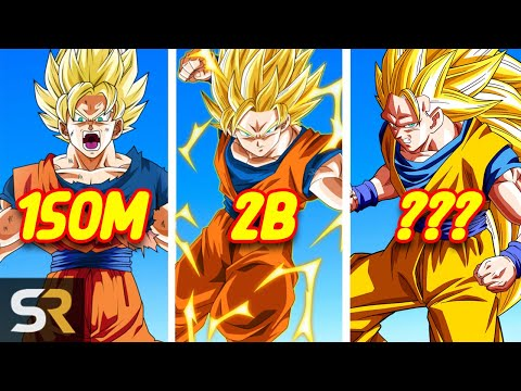 Top 10 Strongest Super Saiyan Transformations In The Dragon Ball Universe