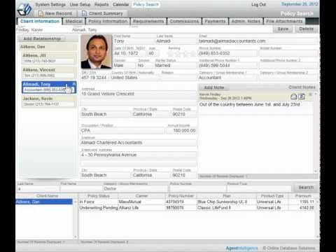 Life Insurance CRM Software Overview