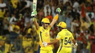 du plessis match winnig six in ipl