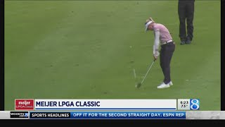 Henderson holds onto lead in Round 2 of Meijer LPGA Classic