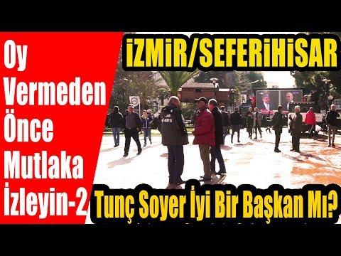 CHP'nin Adayı Tunç Soyer'i Kendi Belediyesinde Sorduk. Seferihisar Halkı Tunç Soyer'den Memnun Mu?