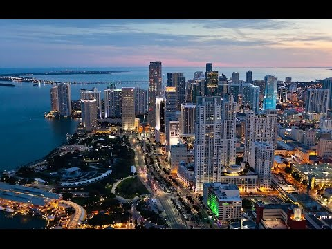 Miami Downtown Biscayne Blvd Brickell Ave US1 Florida