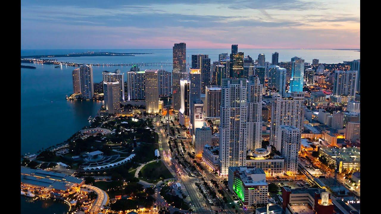 Miami Downtown Biscayne Blvd Brickell Ave US1 Florida ...