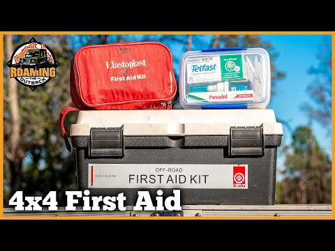 First Aid Kits For Touring Australia - What I Carry For Solo Travel
