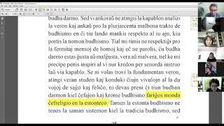 03 | La Sotesana Instruo de Ŭonbulismo | 에스페란토 원불교 대종경 공부 (zoom)