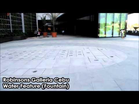 Robinsons Galleria Cebu - Water Features