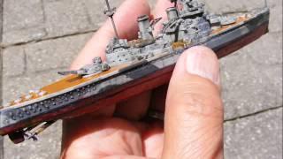 H.M.S. Duke Of York 1/1200 Tiny Model
