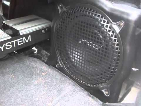 hqdefault stock 3891 mach 1000 speakers subwoofer 03 ford mustang youtube